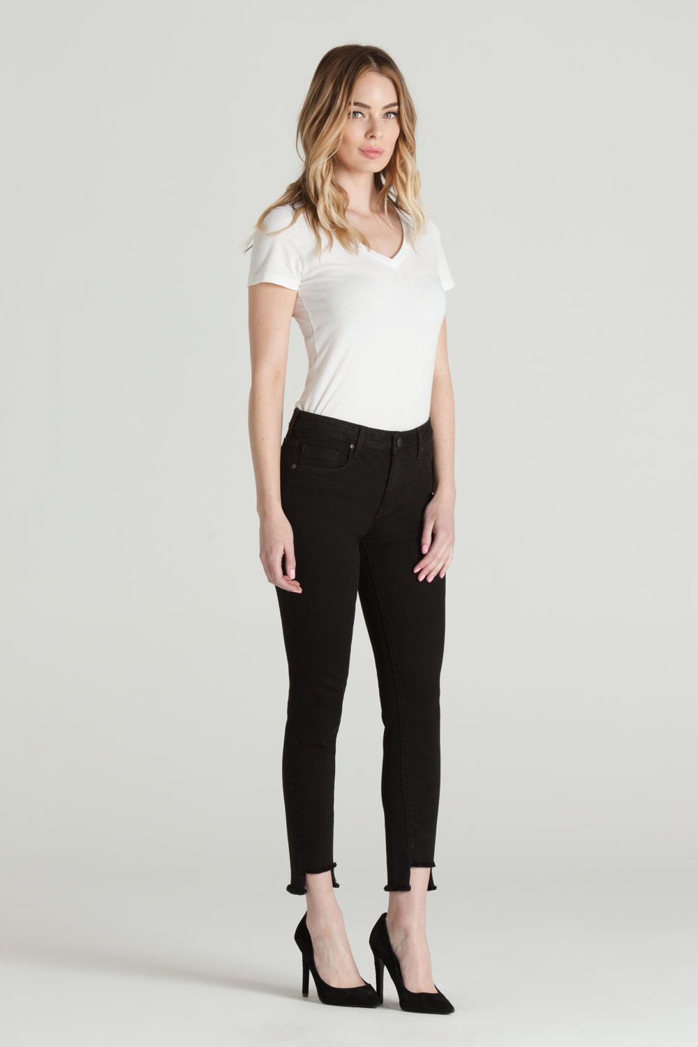 TWISTED SEAM SKINNY IN STALLION